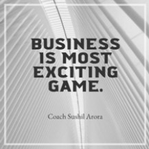 Business is most exciting game