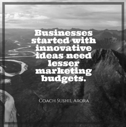 Business started with innovative ideas