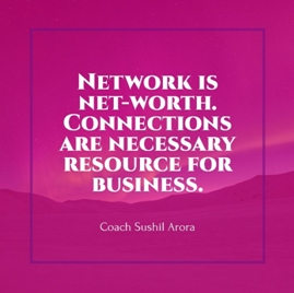 Network is Net worth