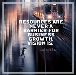 Resources are never a barrier