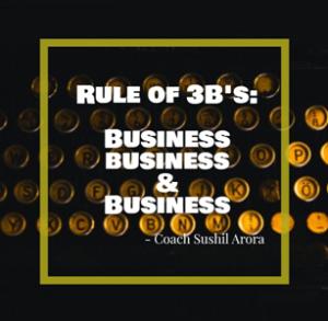 Rule of 3B's