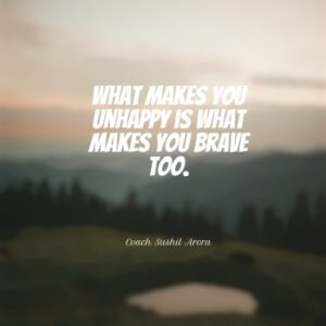 What makes you unhappy