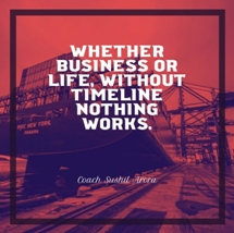 Whether business or life