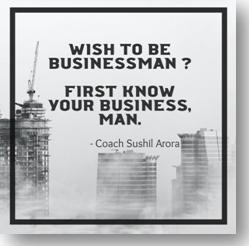 Wish to be businessman
