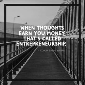 called entrepreneurship